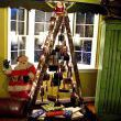 Antique Ladder Christmas Tree